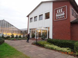 Yaras forskningsinstitut i Hanninghof, Tyskland