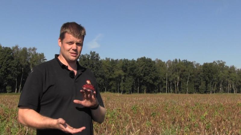 Jacob bruger jordscanninger til at tilpasse behandlingerne til de forskellige dele af marken.
